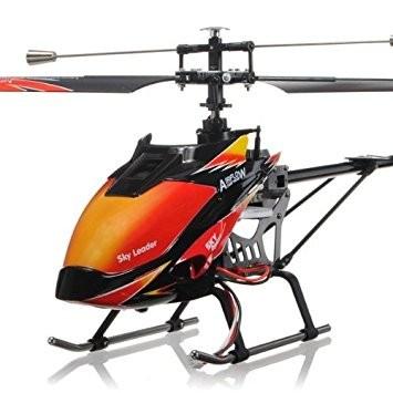 s-idee® 01142 | V913 4.5 Kanal 2,4 Ghz Heli Hubschrauber RC ferngesteuerter Hubschrauber/Helikopter/